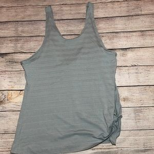 Athleta Max Out Side Tie Tank Top Size M